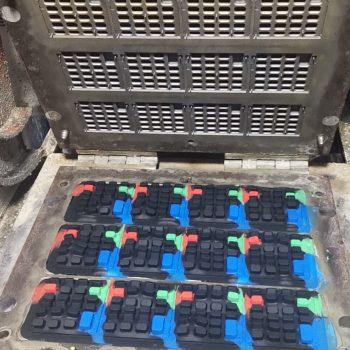 silicone rubber keypad molding